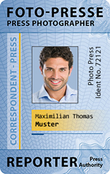 International Press ID-Card