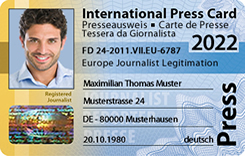 International Press Card